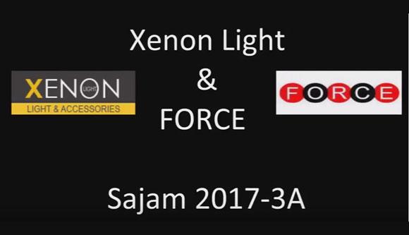Xenonlight izlagač na sajmu automobila 2017. godine
