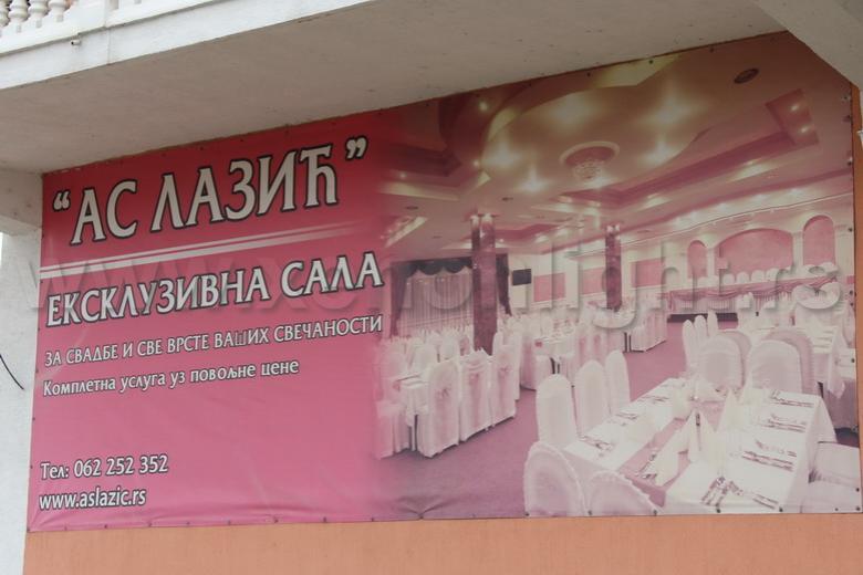 Svečana sala: AS Lazic-sala II