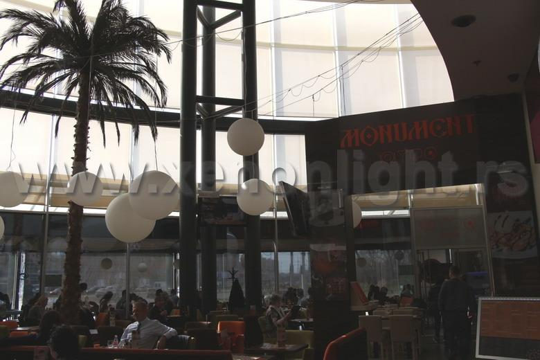 Cafe-Restaurant: ''Monument''- Delta City
