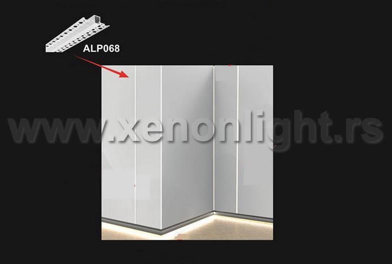 Aluminijumski led profil 068