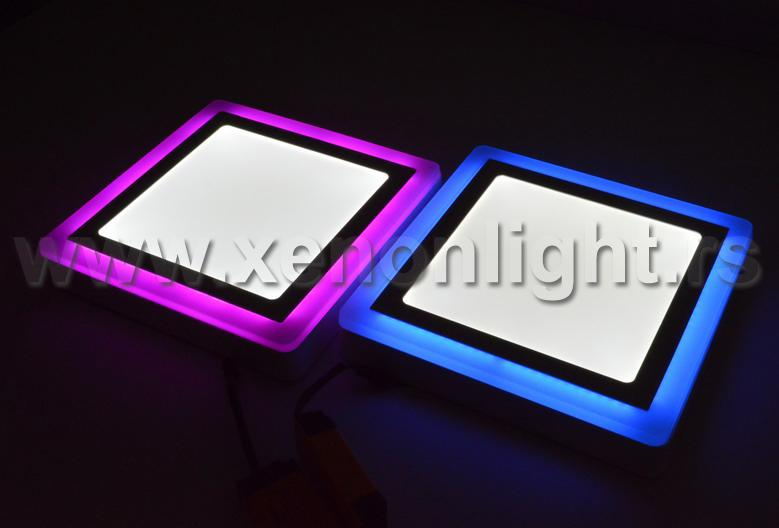 Led panel ON SN 18W B+WH SQ