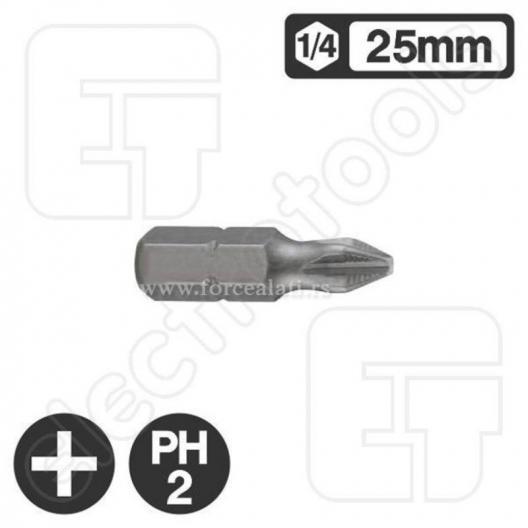 Bit 6.3mm, 25mm, PH-2