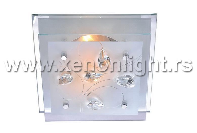Plafonska lampa 3065100 SQUARE 3XE27
