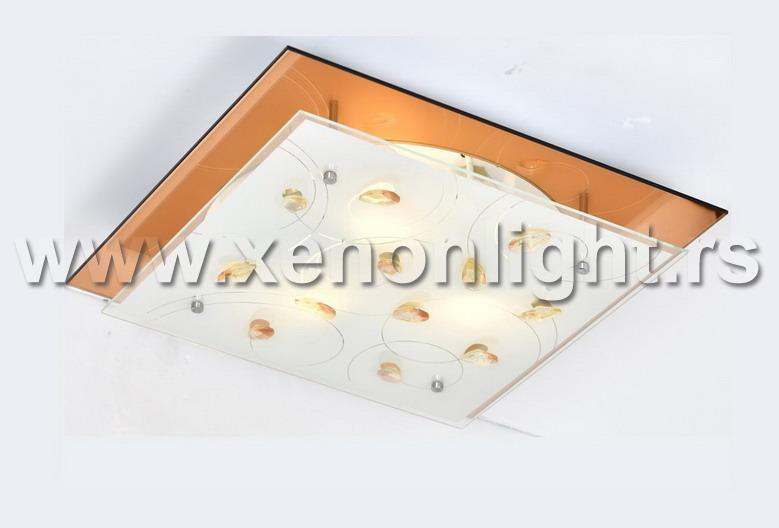 Plafonska lampa 3010001 SQUARE 2XE27