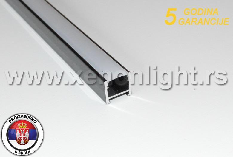 Aluminijumski led profil- nadgradni 018