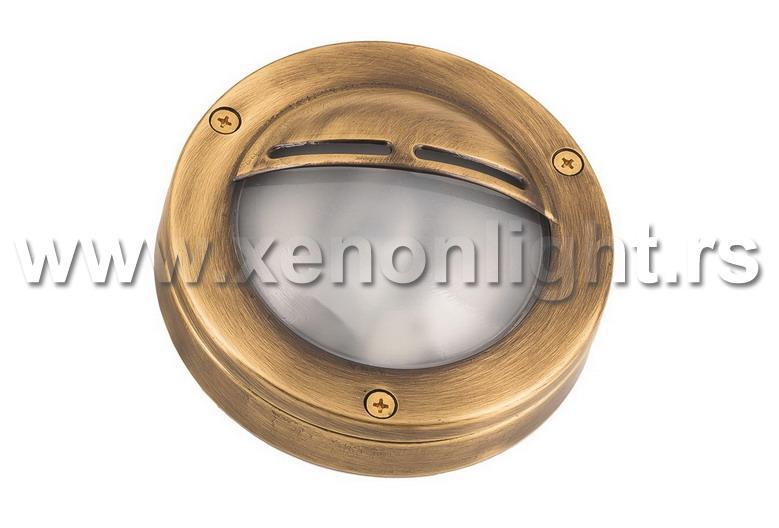 Mesingana zidna lampa 436-G9 BRASS ANTIQUE