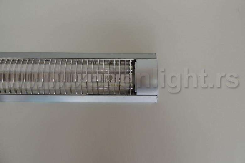 Fluo armatura-3107-2x18W