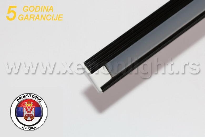 Aluminijumski led profil- ugaoni 03